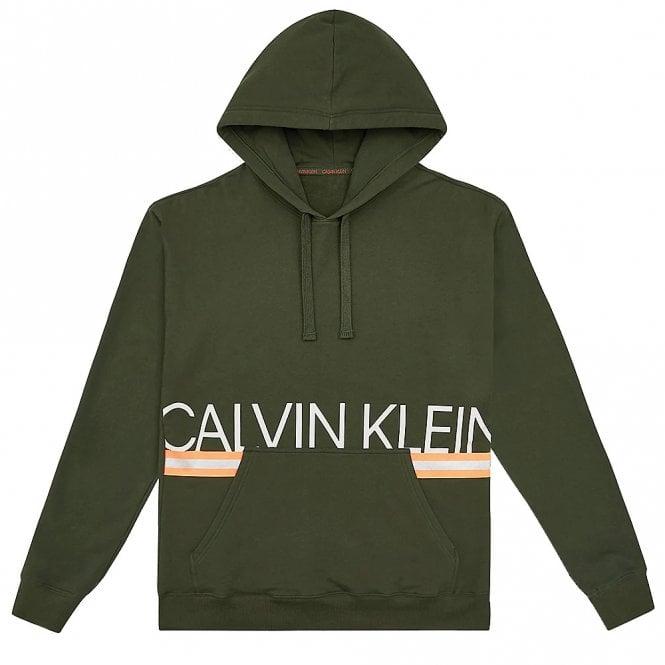 Calvin Klein Pull Over Neon Hoodie, Duffel Bag Green