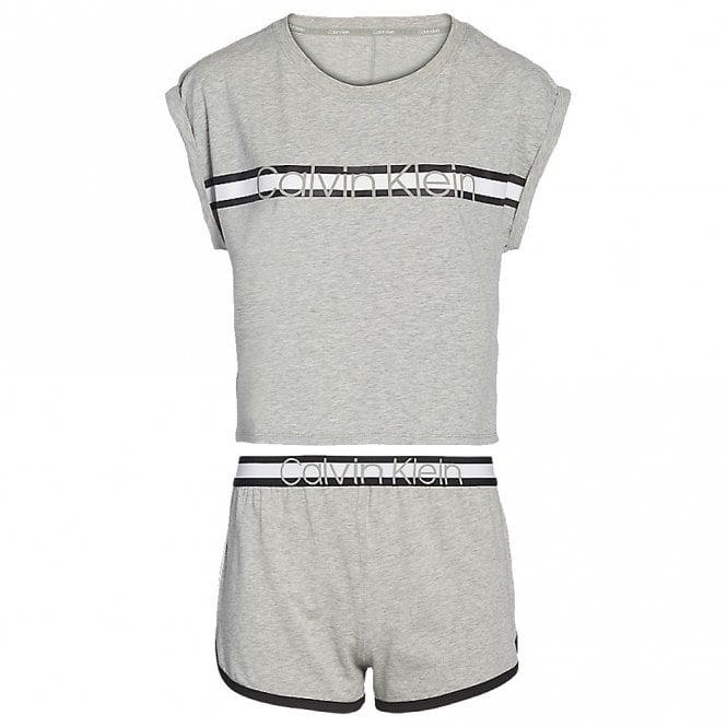 Calvin Klein S/S Short PJ Set, Grey