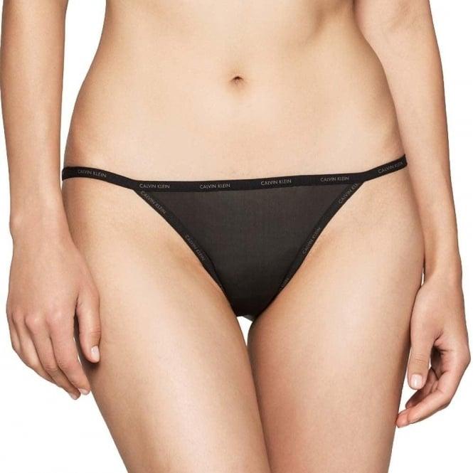 Calvin Klein SHEER MARQ Bikini Brief, Black