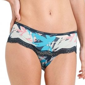 Sheer Marq Lace Hipster Brief, Sublime Print