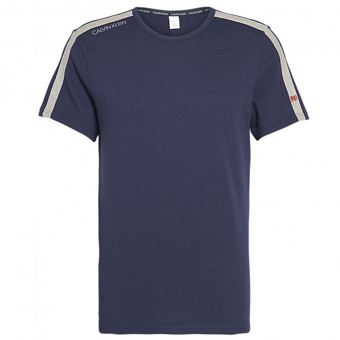 Calvin Klein Short Sleeve Sweatshirt, Shoreline Blue