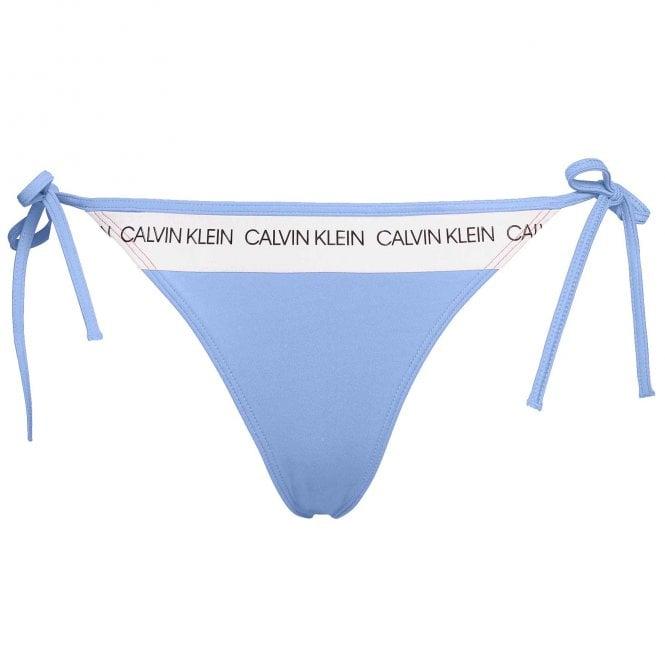 Calvin Klein Side Tie Swimwear Bikini Bottom, Persian Jewel