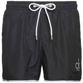 CK NYC Short Runner Swim Shorts, Black