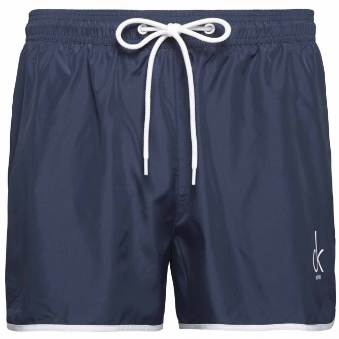 Calvin Klein CK NYC Short Runner Swim Shorts, Blue Shadow