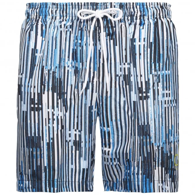 Calvin Klein CK NYC Swim Shorts, City Blue