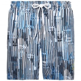 CK NYC Swim Shorts, City Blue