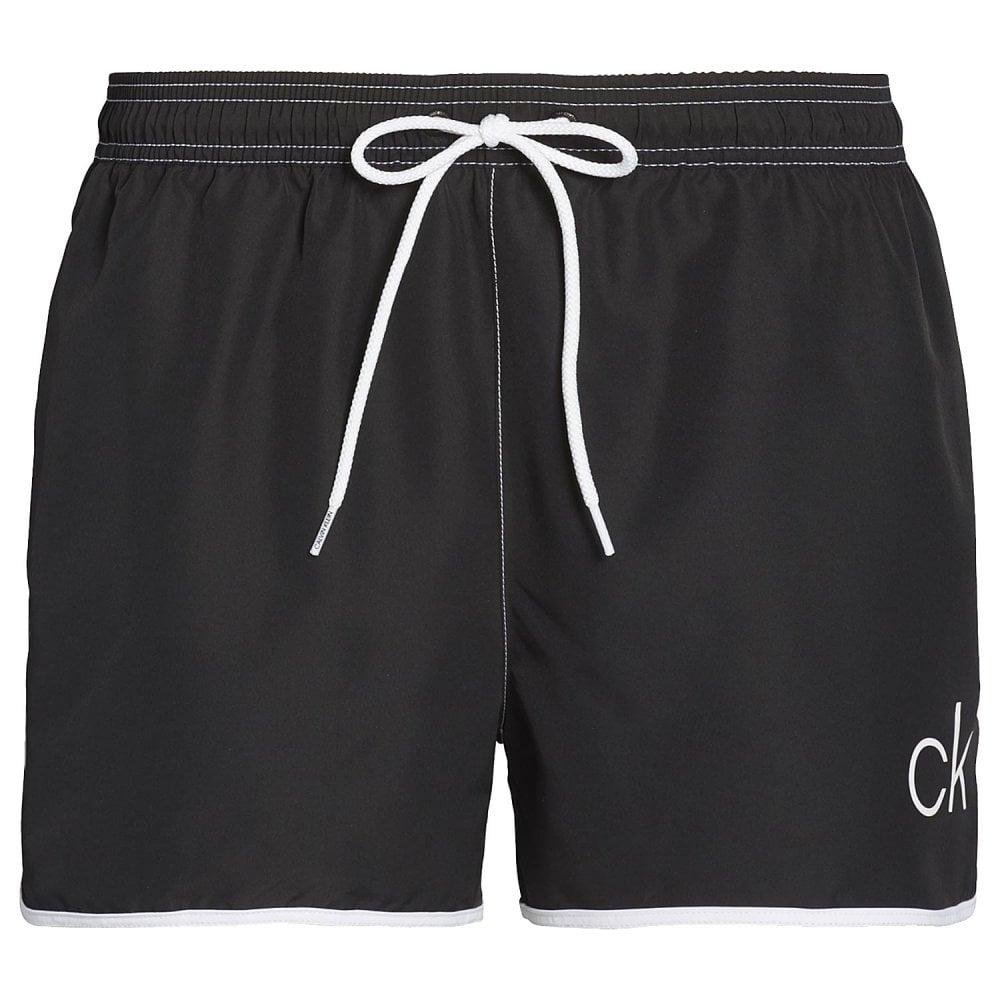 b40197f1b CK Retro Short Runner Swim Shorts, Black