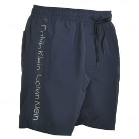 Core Logo Tape Swim Shorts, Blue Shadow
