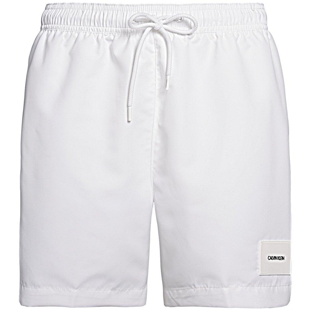 Calvin Klein Swimwear - Core Solids-S Swim Shorts White 9d3598cfa