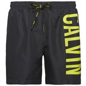 Intense Power Swim Shorts, Black / Yellow
