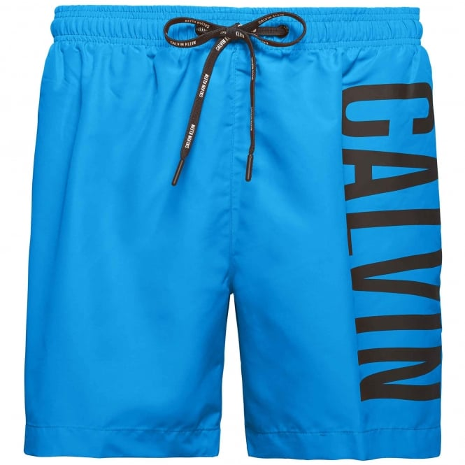 Calvin Klein Intense Power Swim Shorts, Electric Blue