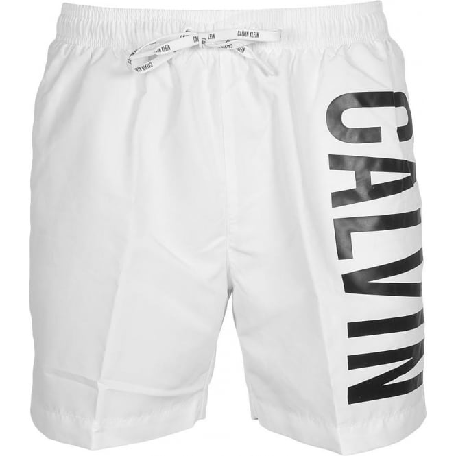 Calvin Klein Intense Power Swim Shorts, White
