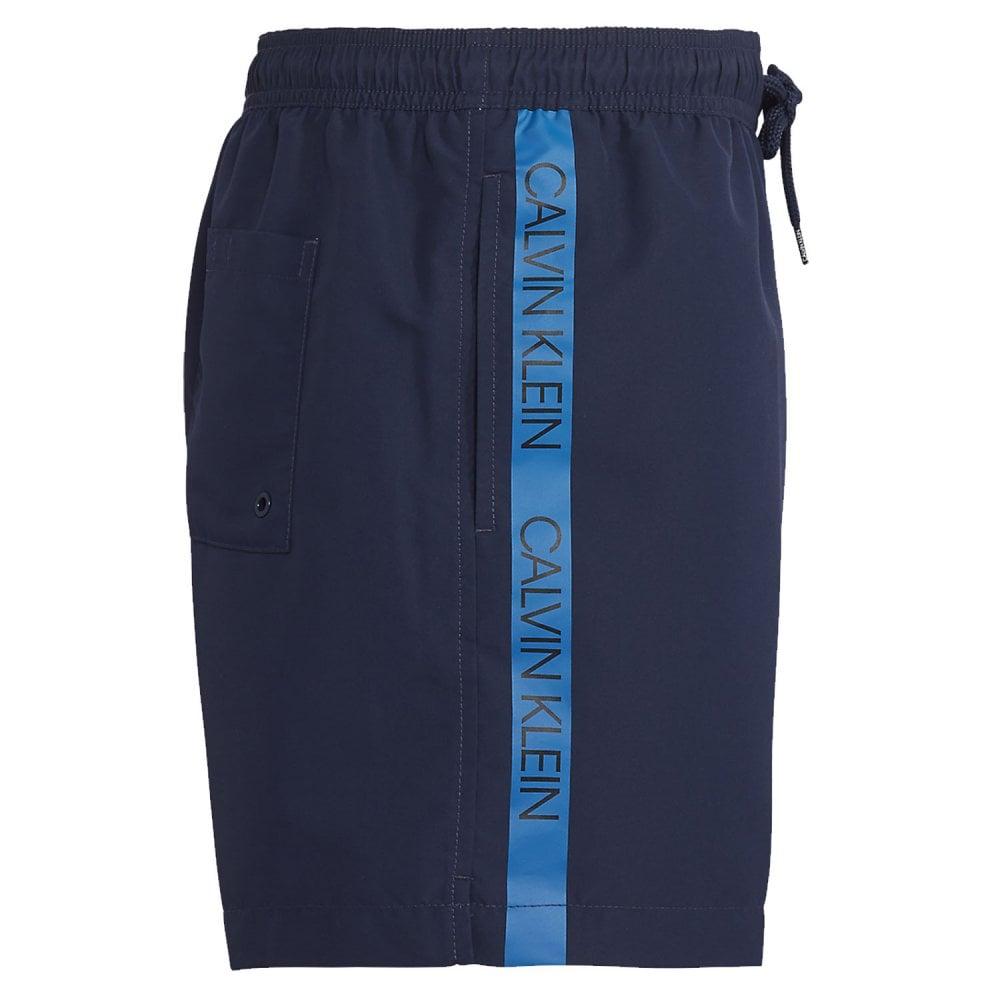 3a380a9ae8 Calvin Klein Swimwear - Medium Drawstring Swim Shorts Blue Shadow