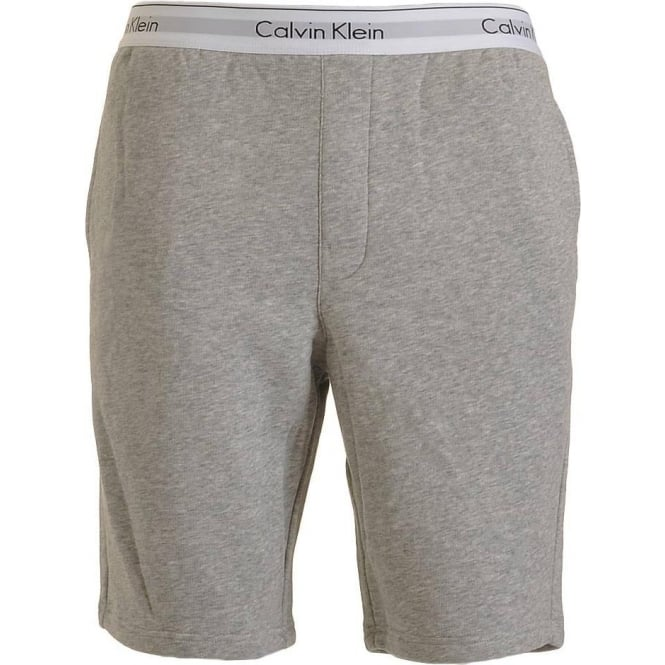 Calvin Klein Modern Cotton Shorts, Heather Grey