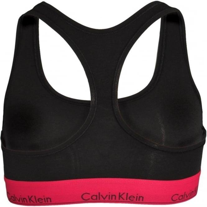 31bc44e7c5 Calvin Klein Women Modern Cotton Bralette Black With Empower