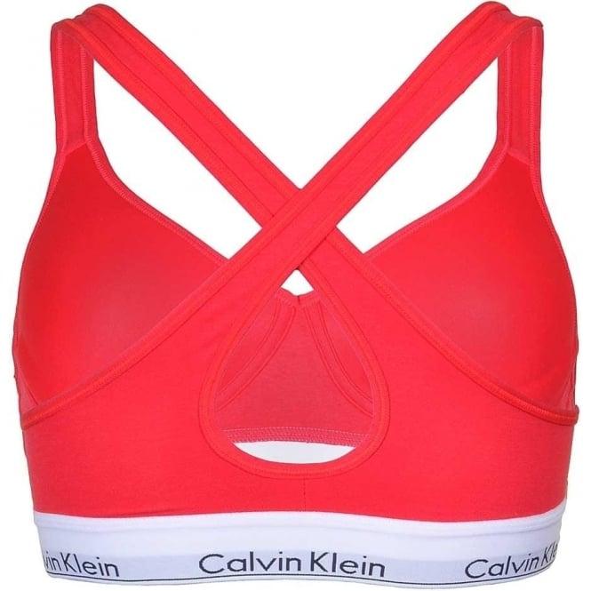 5a3ef8dfa Modern Cotton Bralette Lift, Red