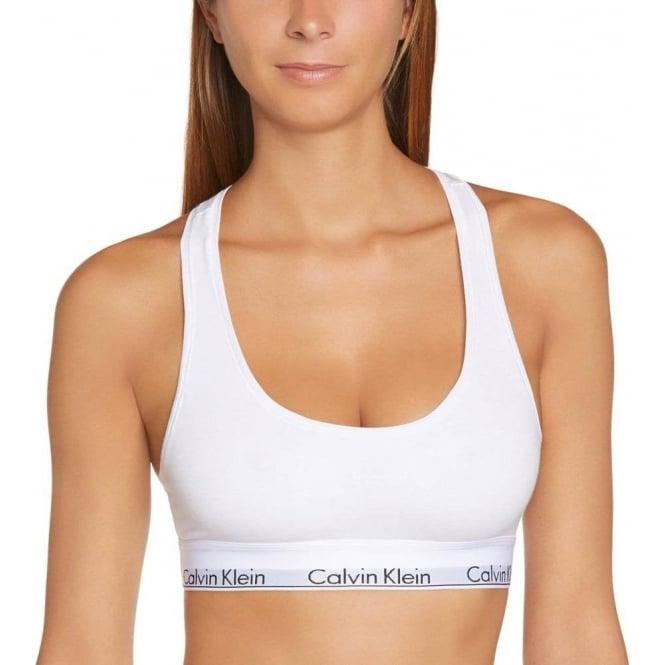 8dc8b302811bce Calvin Klein Women Modern Cotton Bralette White