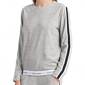 Modern Cotton 'Retro' Sweatshirt, Grey