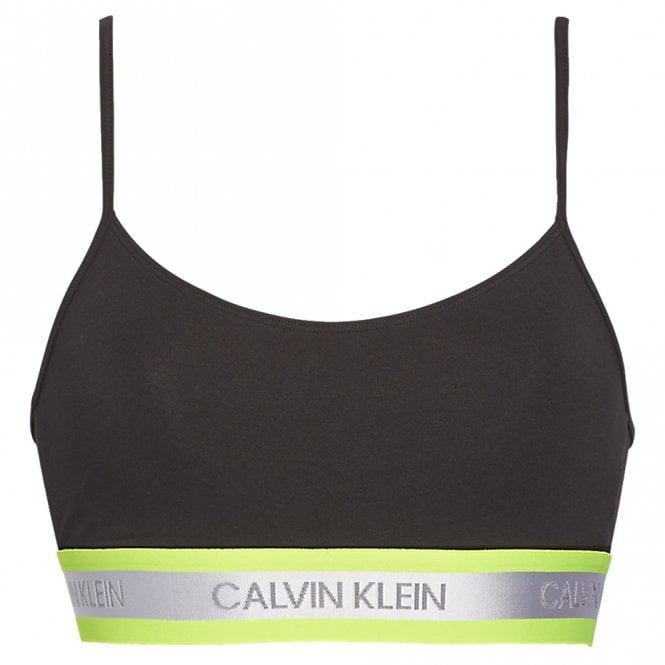 Calvin Klein Neon Bralette, Black