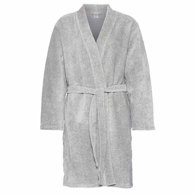 Calvin Klein Quilted Robe, Grey