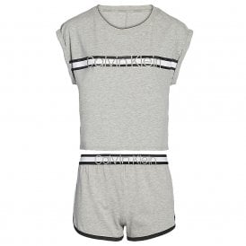 S/S Short PJ Set, Grey