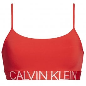 Statement 1981 Reversible Bra, Fever Dream Red