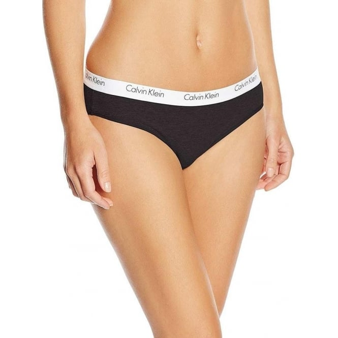 Calvin Klein Women CK One Cotton Cheekini Brief, Black