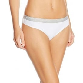 CK One Cotton Thong, White