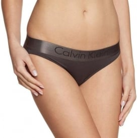 Dual Tone Bikini Brief, Black/Shadow Grey