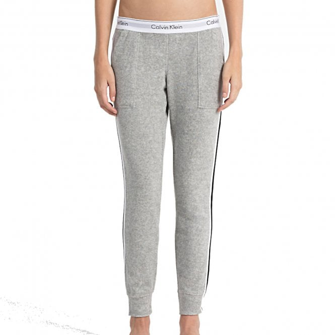Calvin Klein Women Modern Cotton 'Retro' Jogger, Grey