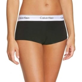 Modern Cotton Short, Black