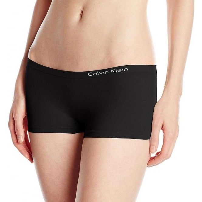 Calvin Klein Women Pure Seamless Boyshort, Black