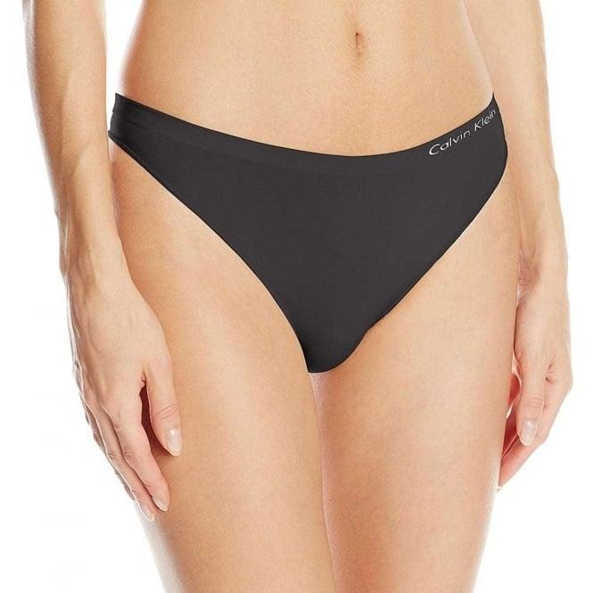be9a45dcc6ae78 Calvin Klein Womens Pure Seamless Thong Black