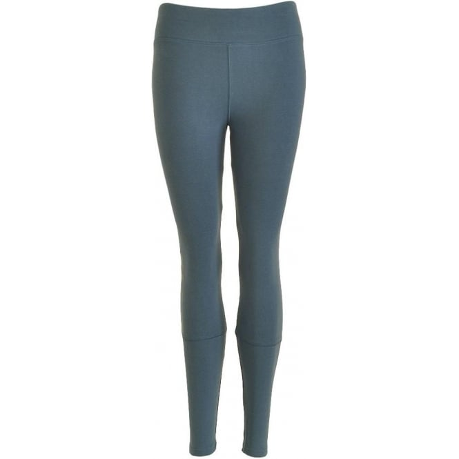 Calvin Klein Women Seamless Logo Legging, Blue Steel