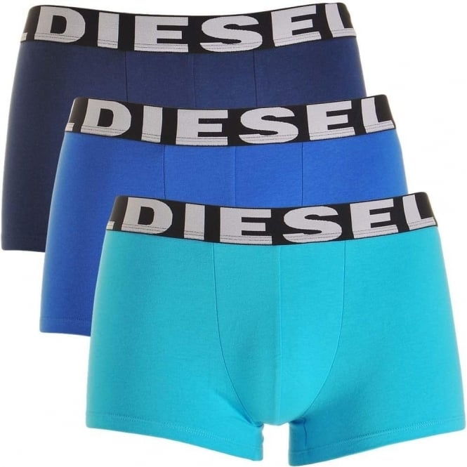 DIESEL 3-Pack Boxer Trunk UMBX-Shawn, Blues