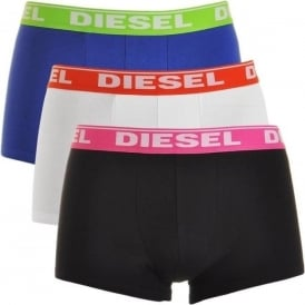 Fresh & Bright 3-Pack Boxer Trunk UMBX-Shawn, Navy / White / Black