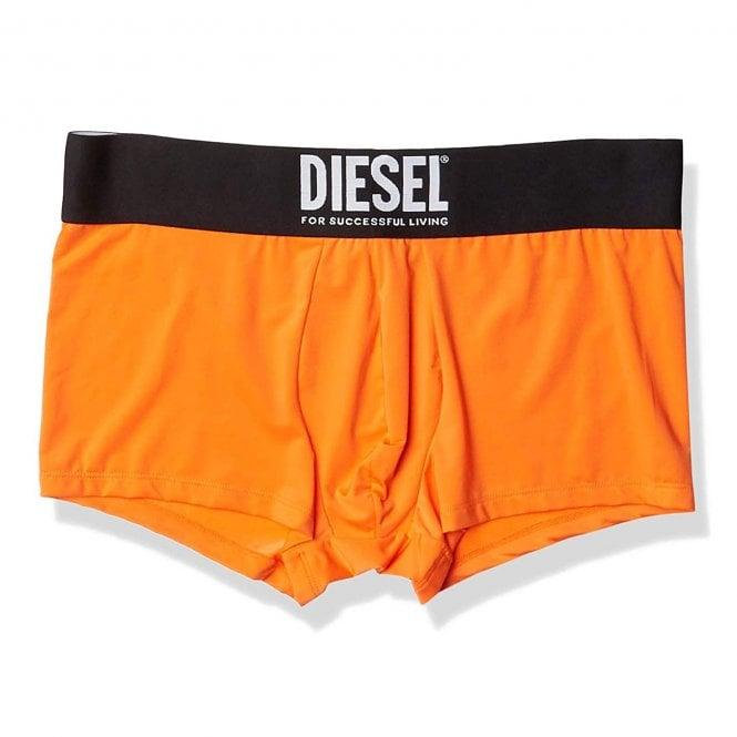DIESEL Microfiber Boxer Trunk, Orange