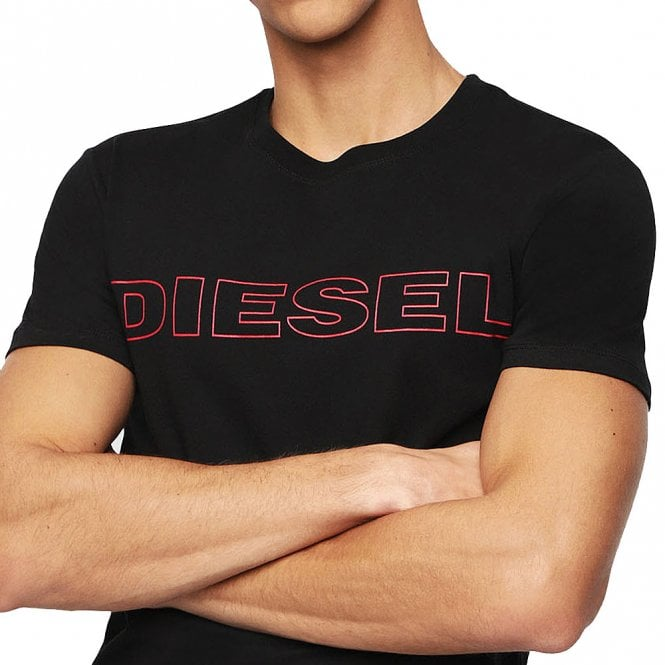 DIESEL UMLT Jake Crew Neck T-Shirt, Black