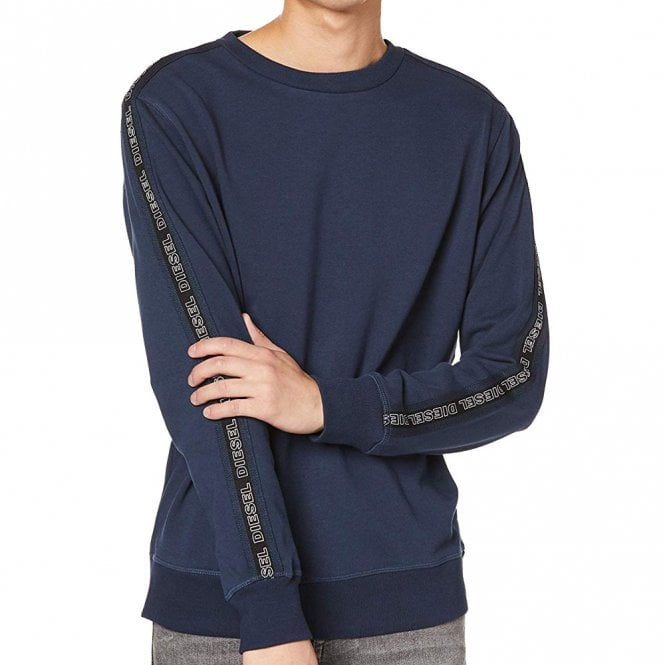 DIESEL UMLT-WILLY Sweatshirt, Navy