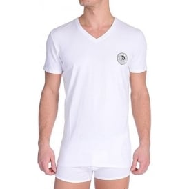 V-Neck T-Shirt UMTEE Michael, White
