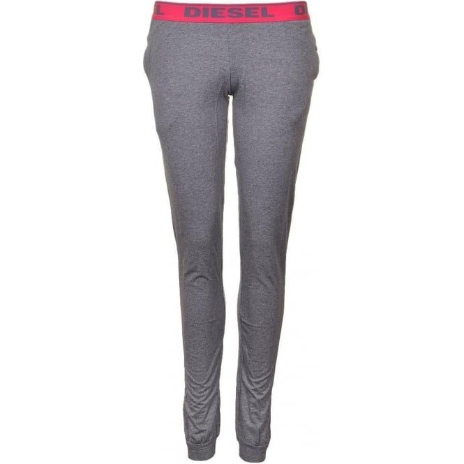 DIESEL Women BABYX PJ Lounge Pant, Grey
