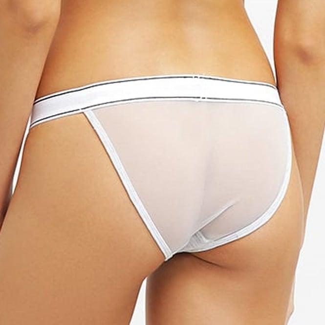 DIESEL Women EBBYS Cotton Tanga Brief Grey//Pink