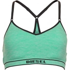 POKA-S Stretch Jersey Bralette, Green