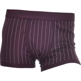 Cotton Regular Boxer, Burgundy