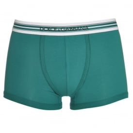 FUEB0 Stretch Cotton Regular Boxer, Green