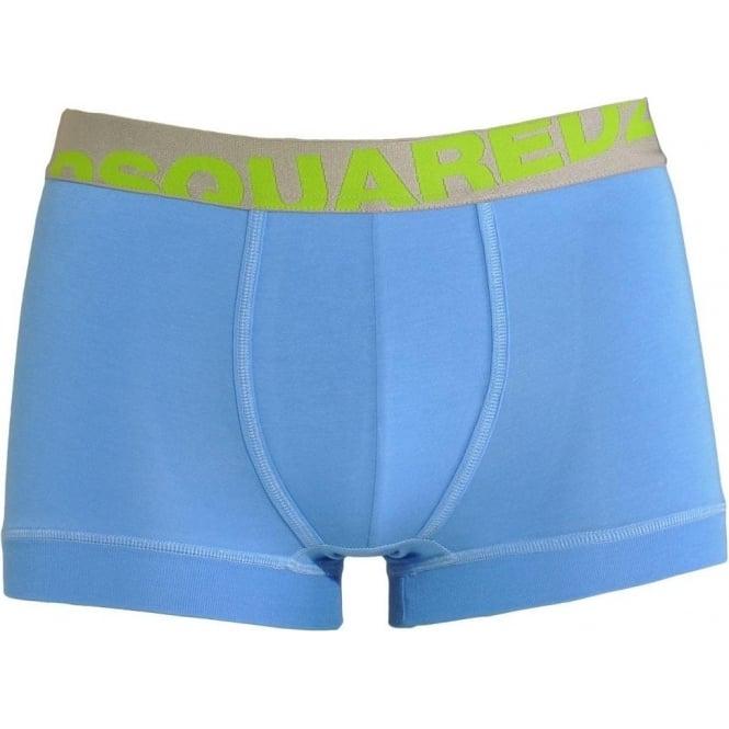 DSQUARED2 Modal Stretch Logo Trunk, Blue