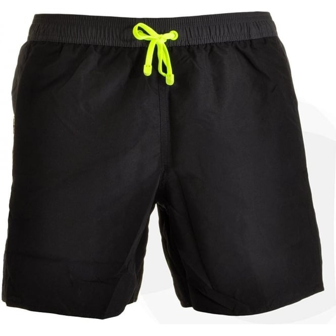 a76c5bb753 EA7 Emporio Armani Sea World Block Swim Shorts, Black
