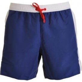 Sea World Block Swim Shorts, Navy
