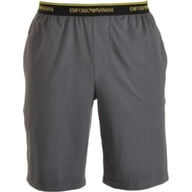 Bermuda Pyjama Shorts, Grey