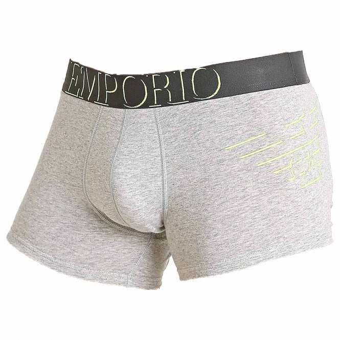 Emporio Armani Big Eagle Trunk, Melange Grey